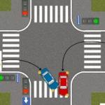 Проезд перекрестков — левый поворот в условиях современного города