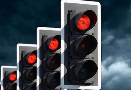 Штрафы за проезд на красный свет, стоп-линию и ж/д переезд