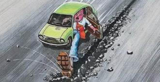 От чего стираются тормозные колодки - или как заменить передние тормоза на классике