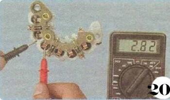 Как снять генератор с Chevrolet Spark М-200 операция 20
